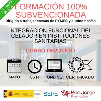 CURSO INTEGRACIÓN FUNCIONAL DEL CELADOR EN INSTITUCIONES SANITARIAS