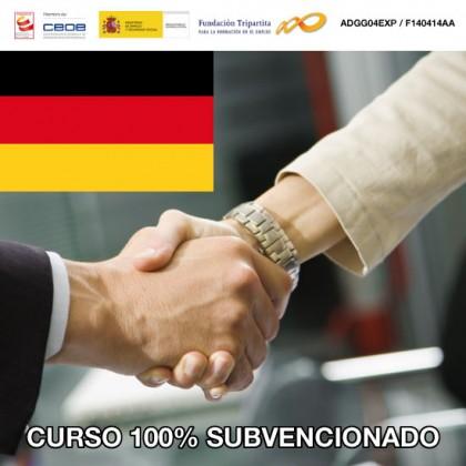Alemán profesional para la gestión administrativa en la relación con el cliente
