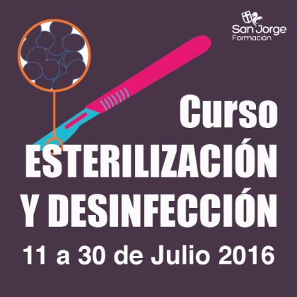 Curso Esterilización y desinfección